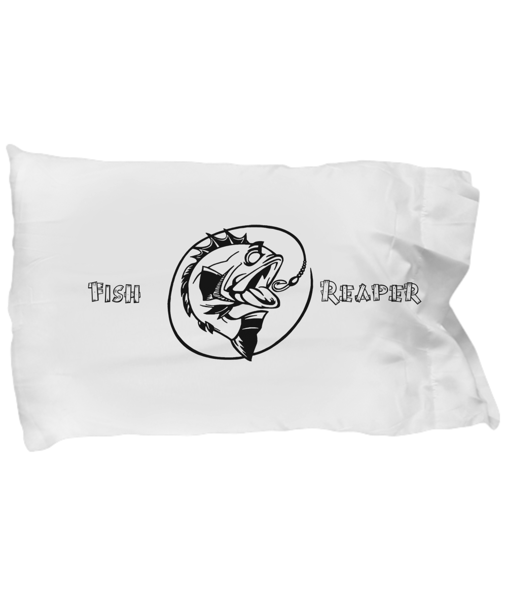 """Bass Reaper"" Pillowcase"