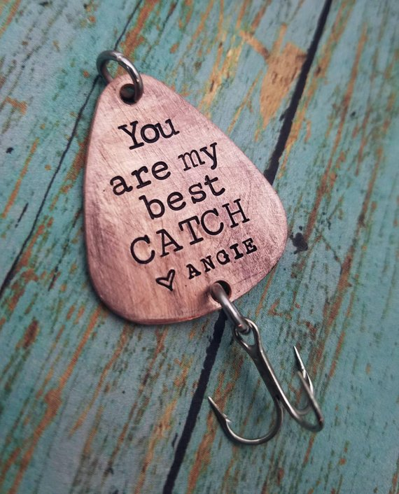 You Are My Best Catch - SPOON FISHING LURE
