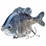 Bass Multi Jointed Swim Bait Fishing Lure - 4 Colors