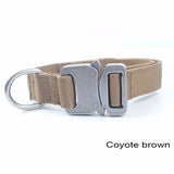 Military Tactical Dog Collar 1 inch Law Enforcement