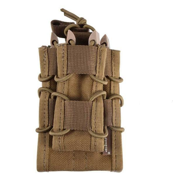 Double Decker Mag Pouch for Pistol and Rifle