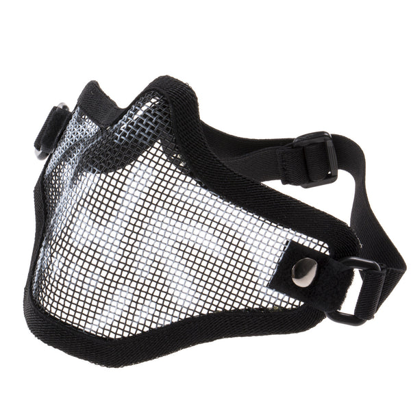 Tactical Metal Mesh Half Masks For Airsoft Paintball - FIRE SALE