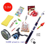 Portable Carbon Rod Combo Sea Fishing Rods And Reels