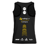 Camiseta Vueling Cup Joma mujer negra