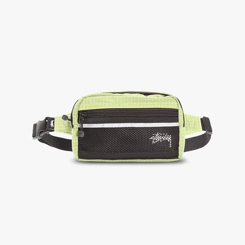 Stüssy Diamond Ripstop Nylon Waist Bag (gelb)