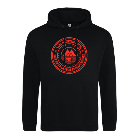 "BMS ""BAR"" Hoodie (black/red)"