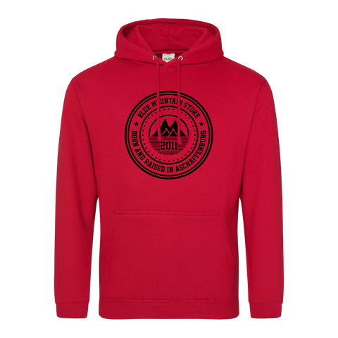 "BMS ""BAR"" Hoodie (red/black)"