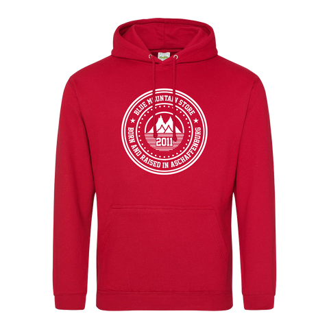 "BMS ""BAR"" Hoodie (red/white)"