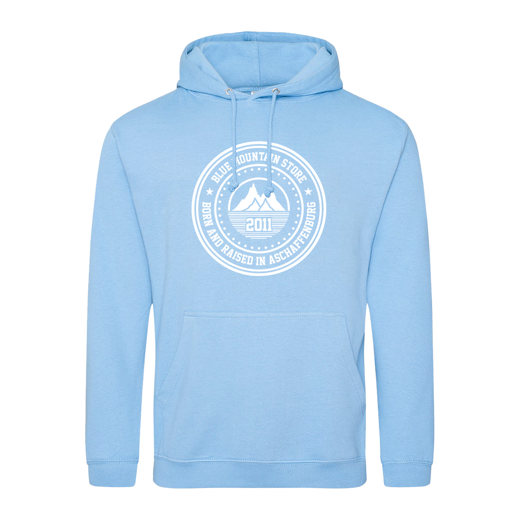 "BMS ""BAR"" Hoodie (lightblue/white)"