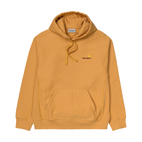 Carhartt WIP Hooded American Script Sweat (winter sun)