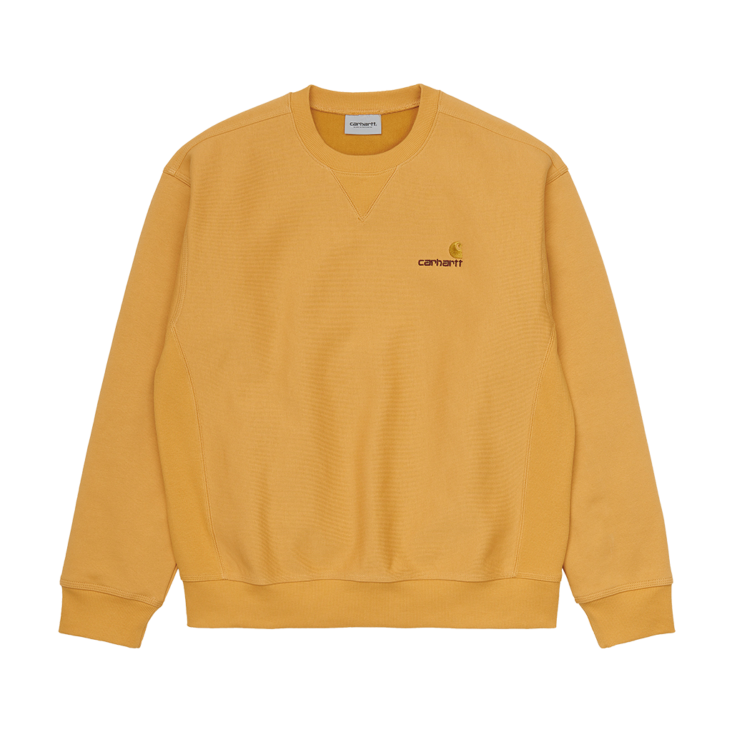 Carhartt American Script Sweat (winter sun)