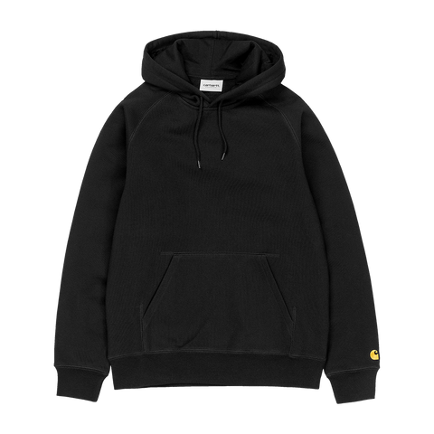 Carhartt WIP Hooded Chase Sweat (black/gold)