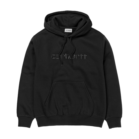 Carhartt WIP Hooded Carhartt Sweat (black/black)