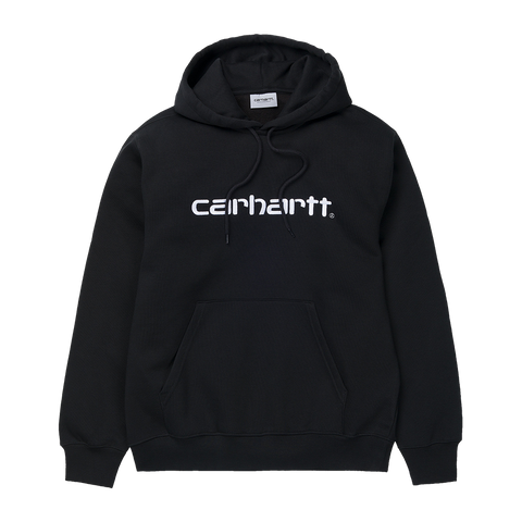 Carhartt WIP Hooded Carhartt Sweat (black/white)