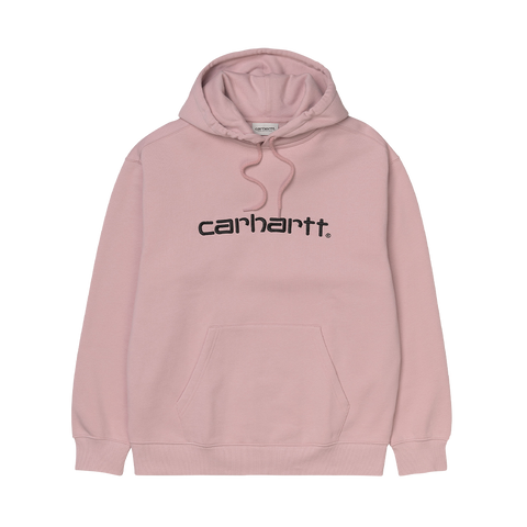 Carhartt WIP W´ Hooded Sweatshirt (frosted pink/black)