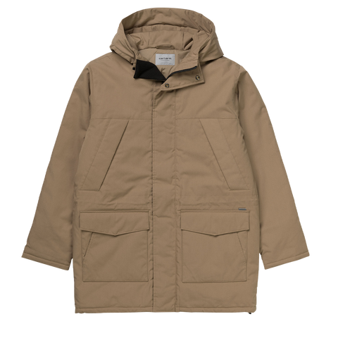 Carhartt WIP Trent Parka (leather)
