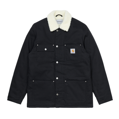 Carhartt WIP Fairmount Coat (black rigid)