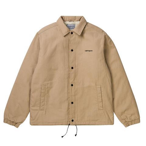 Carhartt WIP Canvas Coach Jacket (dusty brown)