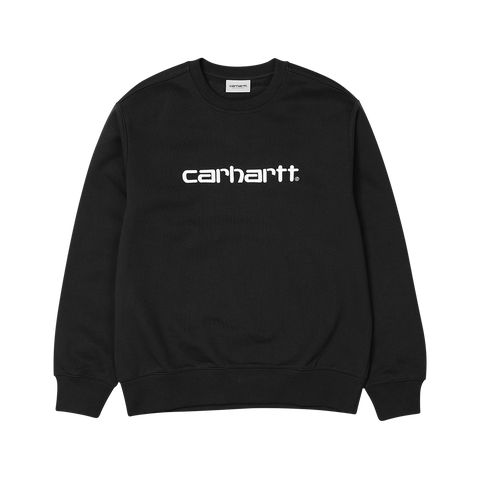 Carhartt Sweatshirt (black/white)