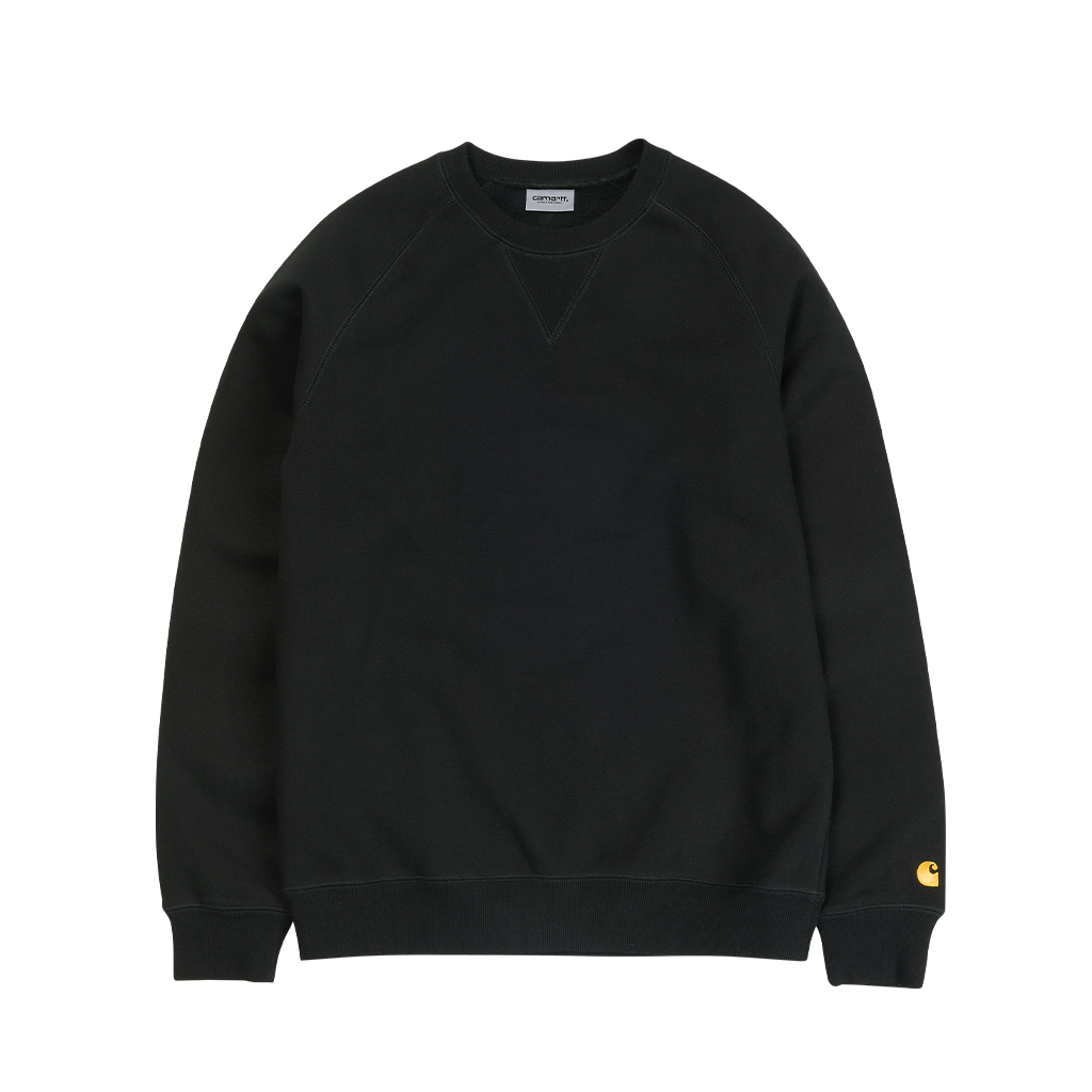 Carhartt WIP Chase Sweat (black/gold)