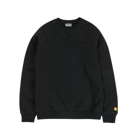 Carhartt Chase Sweat (black/gold)