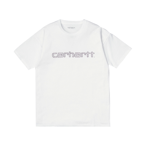 Carhartt W S/S Commission Script T-Shirt (white)