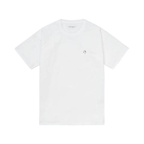 Carhartt W S/S Commission Logo T-Shirt (white)