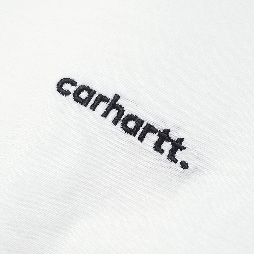 Carhartt WIP W S/S Typeface T-Shirt (white/black)