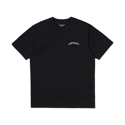 Carhartt S/S University Script T-Shirt (black/white)