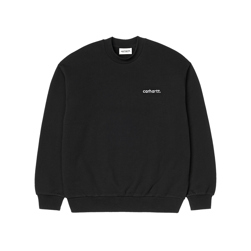 Carhartt W´ Typeface Sweat (black/white)
