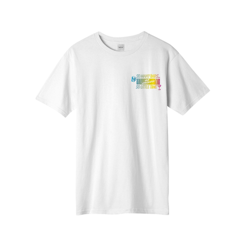 Huf So Many Bars T-Shirt (white)