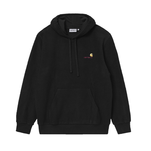 Carhartt WIP Hooded Contra Sweat (black)