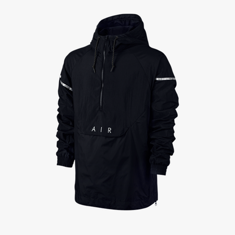 Nike NSW Woven Air Hybrid Jacket (schwarz) - BM Plus - 1
