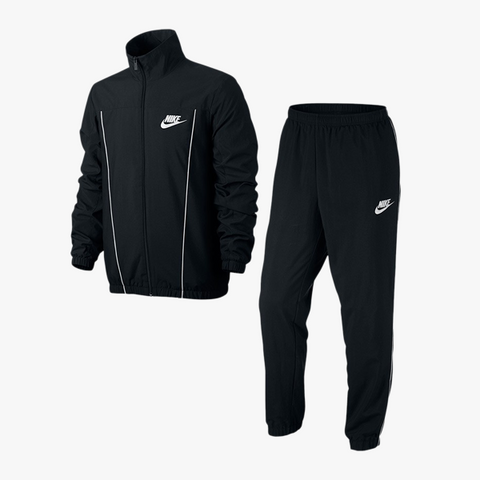 Nike NSW Woven Pacific Track Suit (schwarz/weiß)