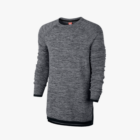 Nike Tech Knit Crew (grau/schwarz) - BM Plus - 1