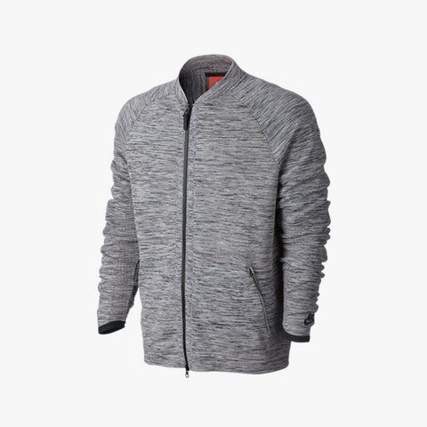 Nike Tech Knit Jacket (grau/schwarz) - BM Plus - 1