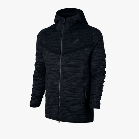 Nike Tech Knit Windrunner (schwarz/grau) - BM Plus - 1
