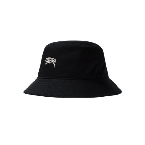 Stüssy Stock Bucket Hat (black)