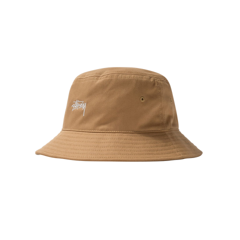 Stüssy Stock Bucket Hat (khaki)