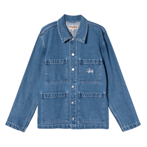 Stüssy Denim Chore Jacket (blue)