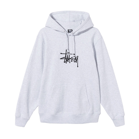 Stüssy Basic Stussy App. Hood (ash heather)