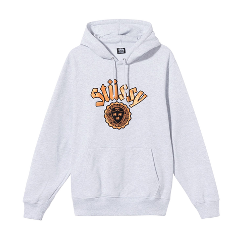 Stüssy City Seal App. Hood (ash heather)