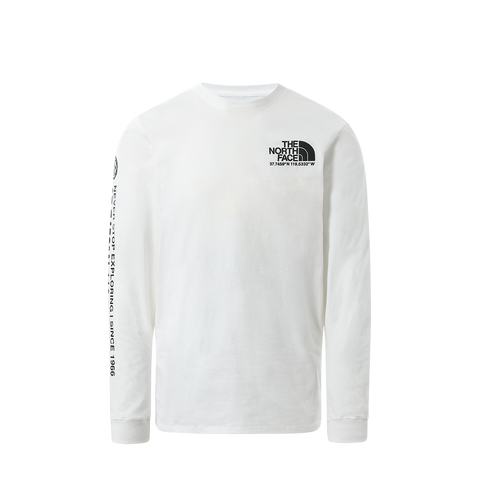 The North Face Coordinates LS Tee (white)