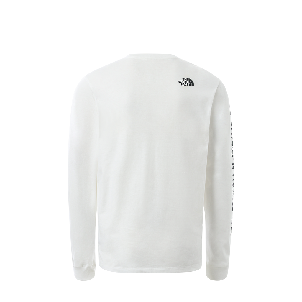 The North Face Coordniates LS Tee (white)