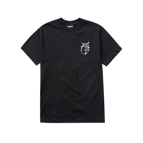 The Hundreds Forever Simple Adam Logo T-Shirt (black/white)