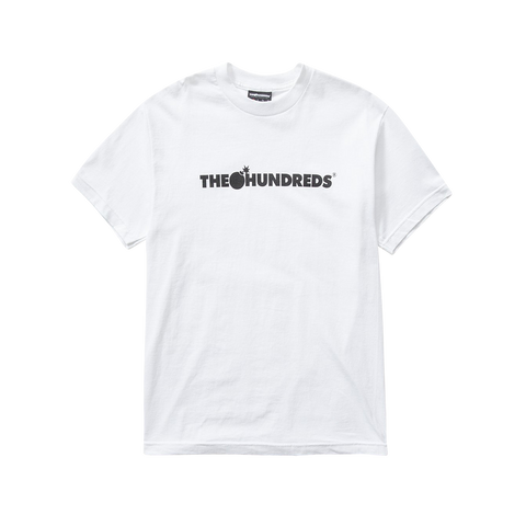 The Hundreds Forever Bar Logo T-Shirt (white/black)