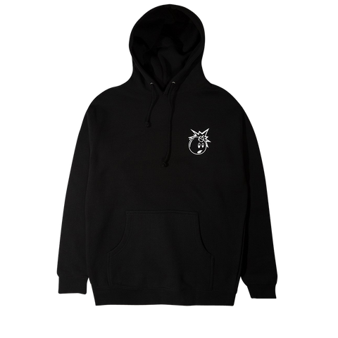 The Hundreds Forever Simple Adam Logo Pullover (black/white)