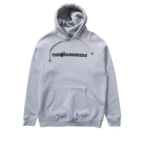 The Hundreds Forever Bar Logo Pullover (grey heather)