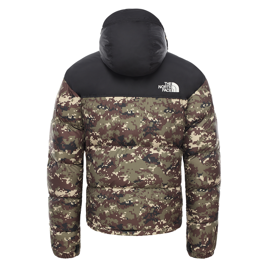 The North Face 1996 RTO Nuptse (black/camo)