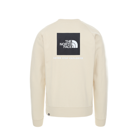 The North Face Raglan Red Box Crew (bleached sand)